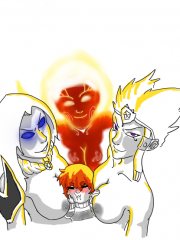 Hel, Scylla, Serqet and Sol