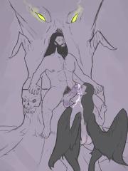 Hades and Thanatos