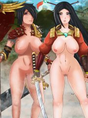 Amaterasu and Bellona