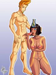 Apollo and Neith