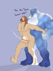 Thor and Ymir