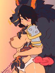Bellona and Fenrir
