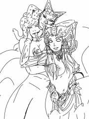 Arachne and Medusa