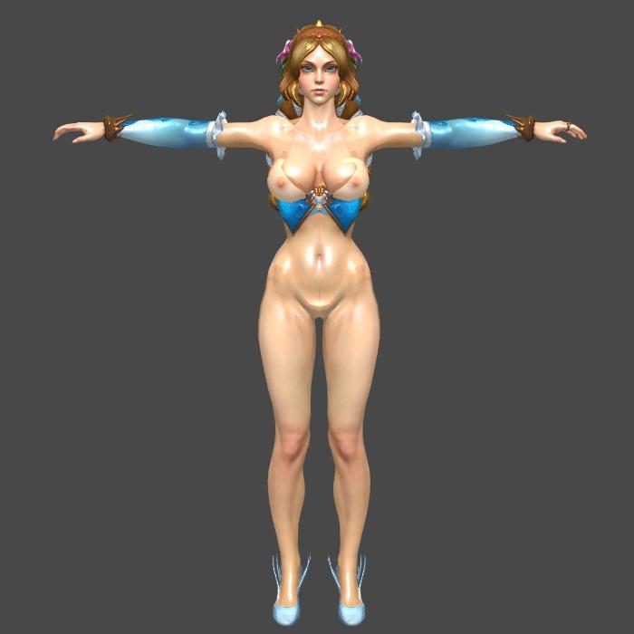 Aphrodite Maxramzz Smite XNALara