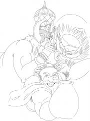 Bacchus, Kumbhakarna, Terra and Zhong_Kui